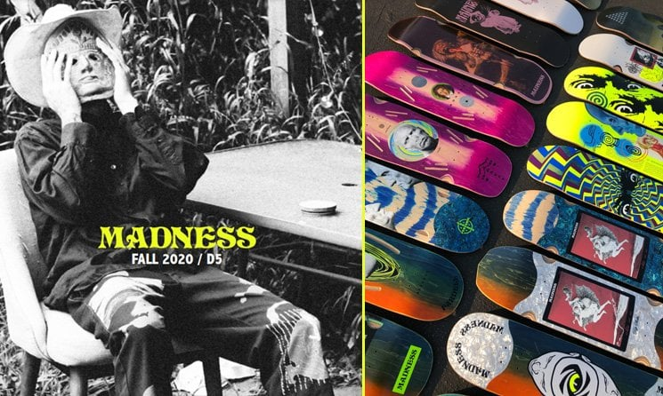 madness skateboard shop