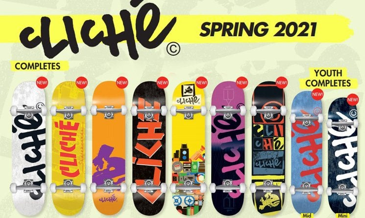 Cliche Skateboards shop