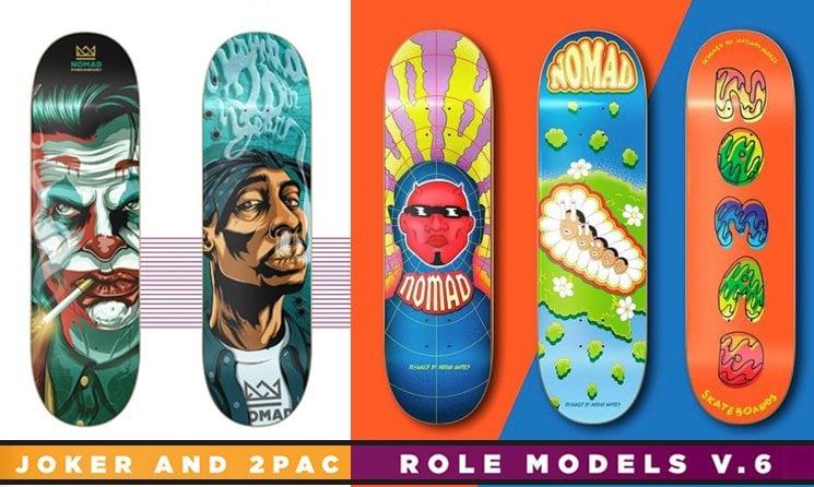 Nomad Skateboard Shop