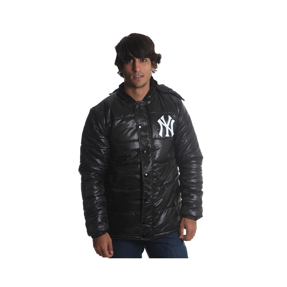 Cazadora Majestic: Spinball Puffa New York BK   Comprar