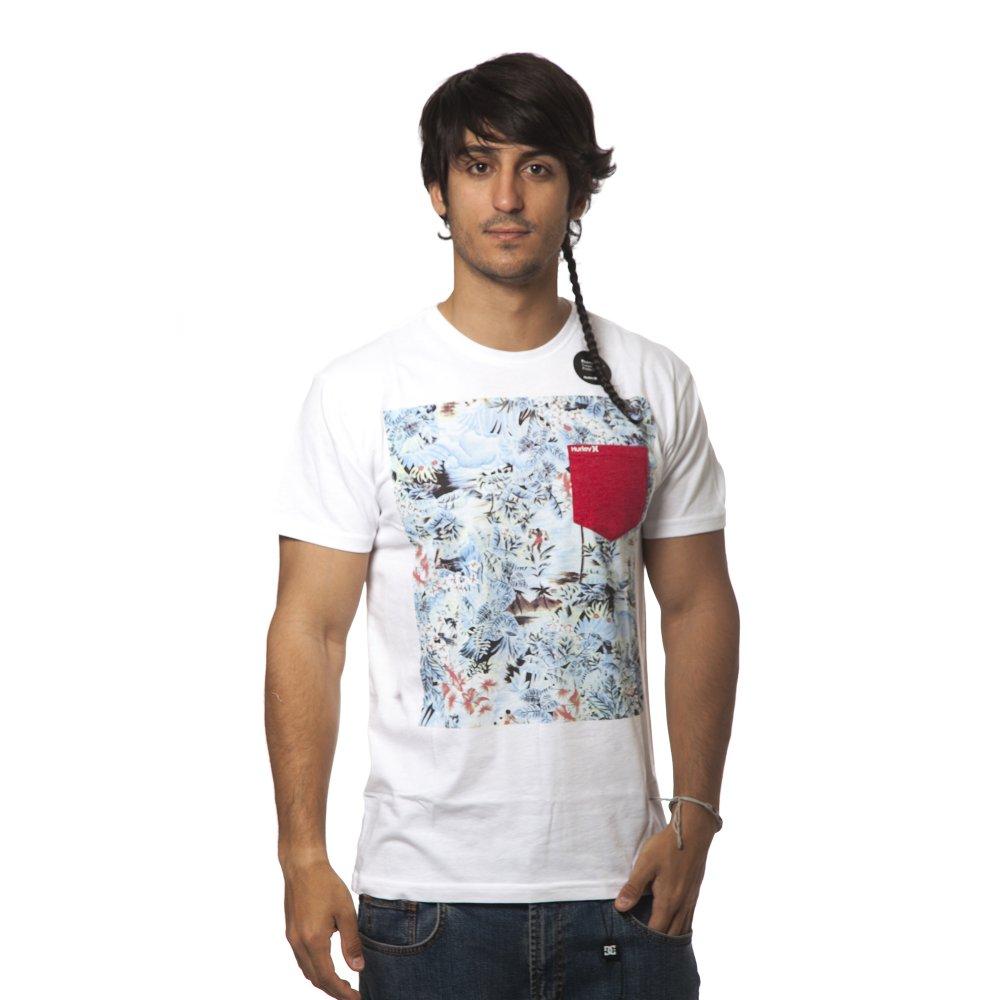 ... T-Shirt Hurley  Aloha Pocket WH ... 0930b9fbe09