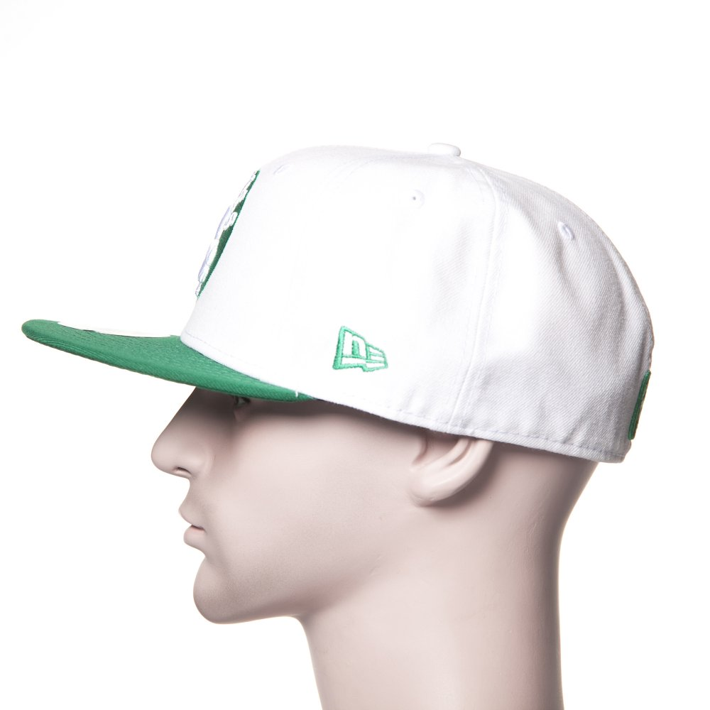 ... Boné New Era  59Fifty White Top 2 Boston Celtics WH GN. ‹ 8197cf3f8e4
