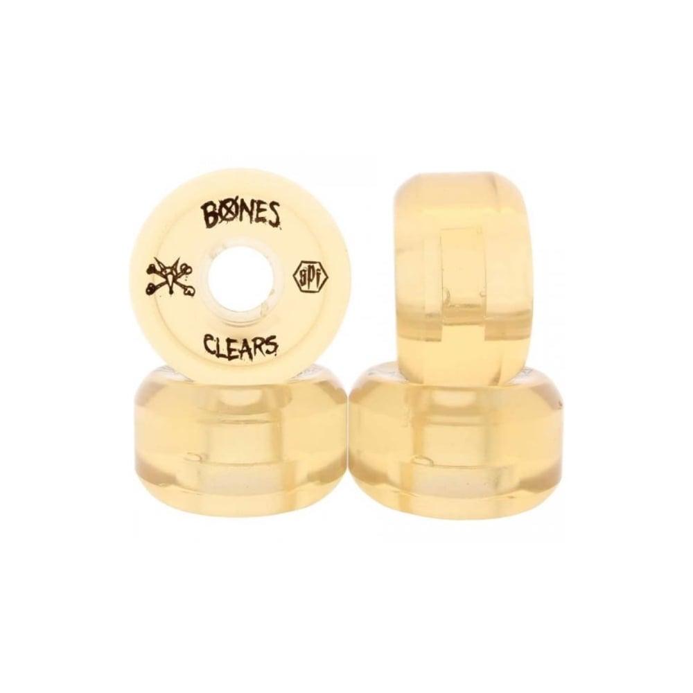 ... Rodas Bones  Skatepark Clear Natural (56mm) ... d6ff4af6d6c