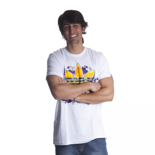 T Shirt Adidas Originals: Old School Tref WH | Encomendar