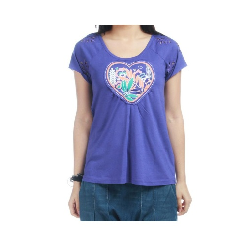 T-Shirt Chica Roxy: Lodge PP, XS