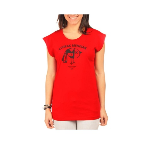 T-Shirt Mulher Loreak Mendian: PioPio PK, XS