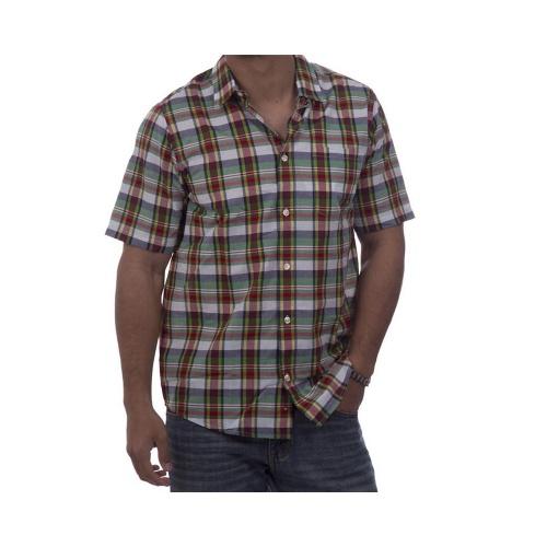 Camisa Carhartt: Baxter WH/GN, XL