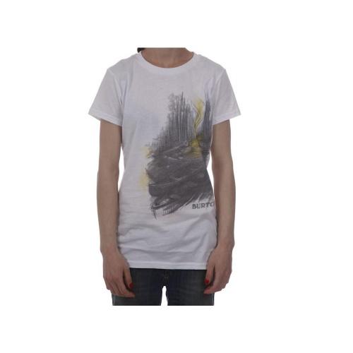 T-Shirt Mulher Burton: Campout WH, XS