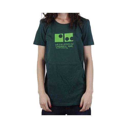 T-Shirt Mulher Loreak Mendian: Jon Fine GN, XS