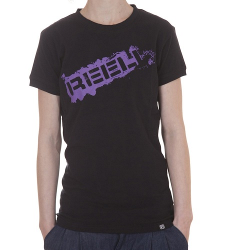 T-Shirt Mulher Reell: Stamp BK, S