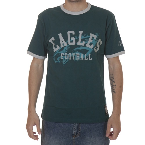 T-Shirt NFL Reebok: Eagles Gridiron GN, XS