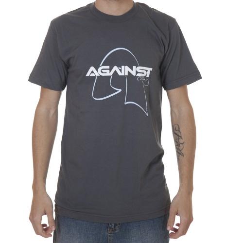 T-Shirt da marca Against Clothing. Cor: cinza.