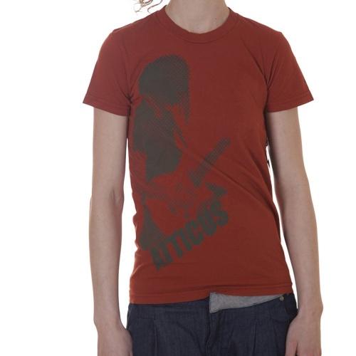 T-Shirt para mulher da marca Atticus. Cor: laranja.