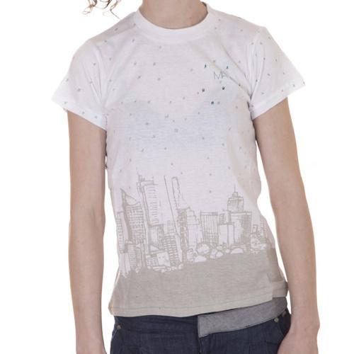 T-Shirt Mulher Matix: Still Starry Night WH, XS