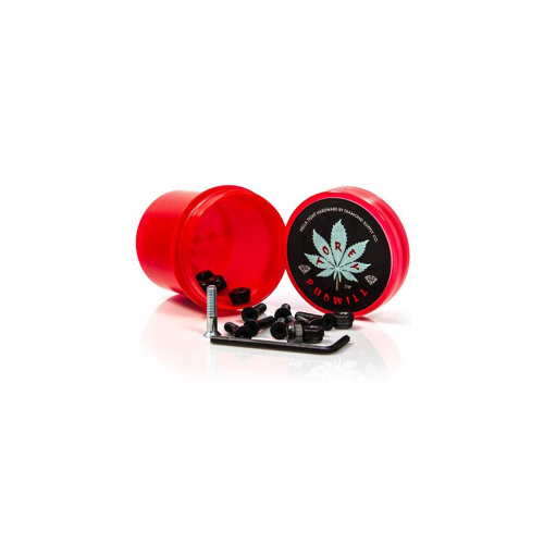 "Parafusos Diamond: Hella Tight Hardware Torey Pudwill 7/8"" Red"