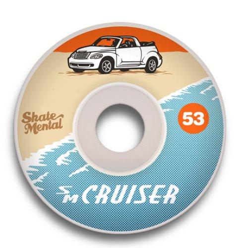 Rodas Skate Mental: PT Cruiser 2 (53 mm)