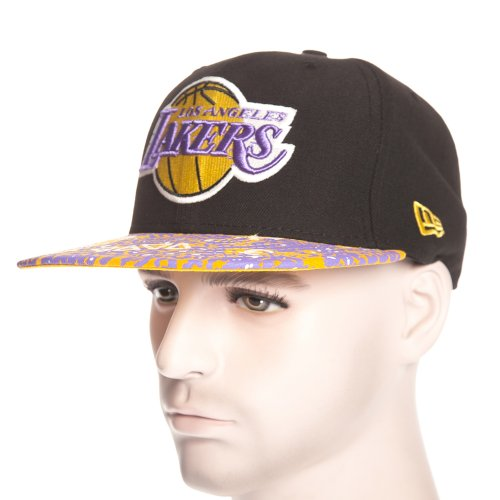 Boné New Era: Fleur De Fitted Los Angeles Lakers BK/YL