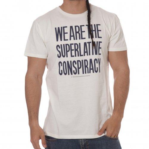T-Shirt WESC: Clean Message WeSC Men Winter White WH