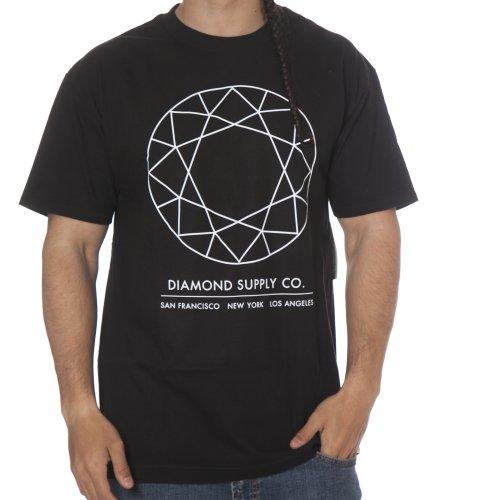 T-Shirt Diamond: Off Top Tee Black BK
