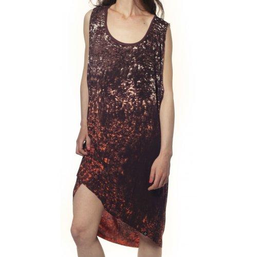 Vestido Mulher Nikita: Sea Dress Coral Fade BR/OR