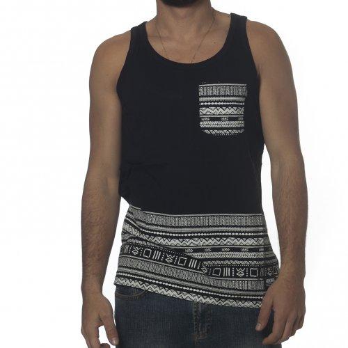T-shirt de alças Wrung: Natives BK
