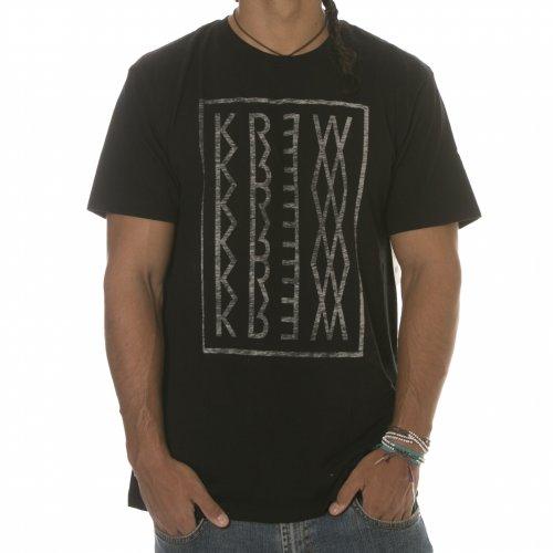 T-Shirt Krew: Reflex Black BK