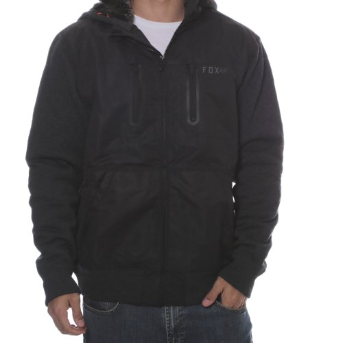 Casaco Fox Racing: Marauder Sasquatch Zip Fleece BK