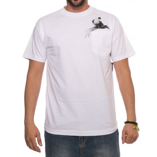 T-Shirt Lakai: Wallride Pocket Tee WH