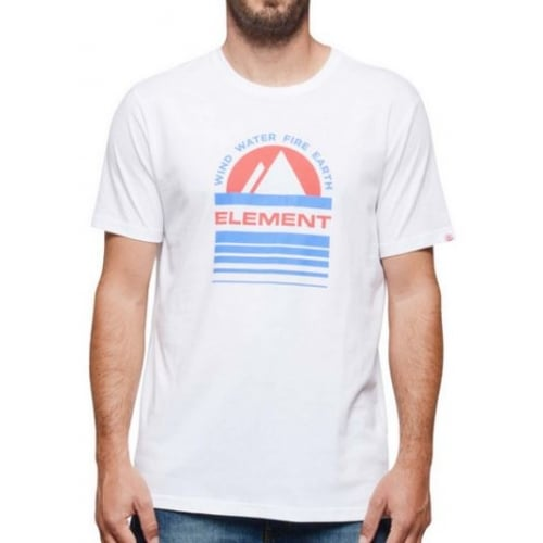 T-Shirt Element: Optic Apex SS WH