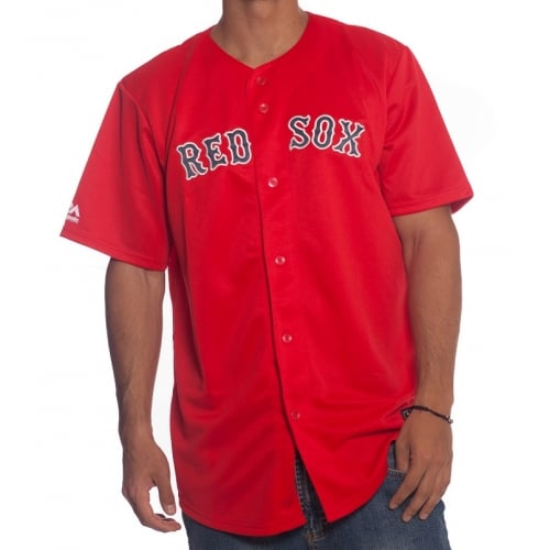 Camisa MLB Majestic: Boston Red Sox RD