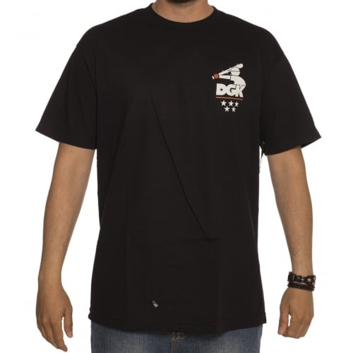 T-Shirt DGK: Batter Tee BK