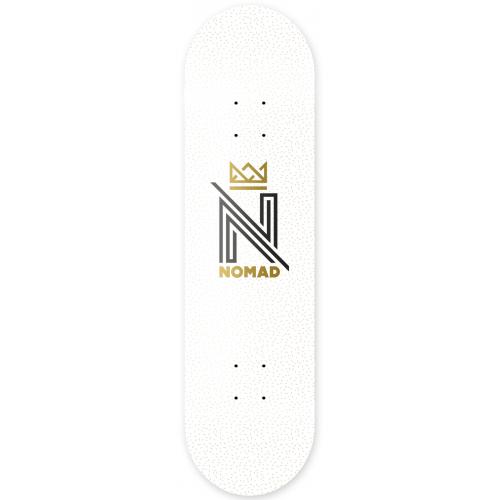 Tábua Nomad: OG Logo White DLIGHT 8.0