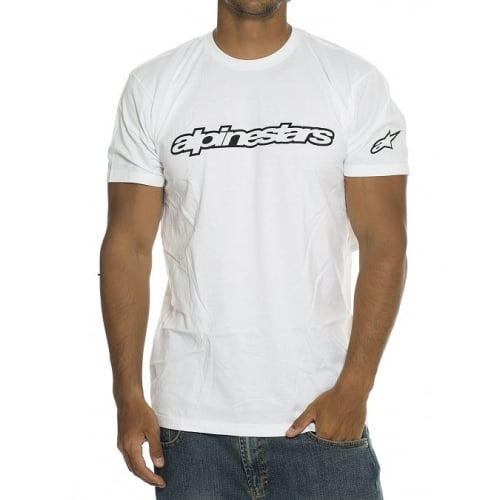 T-Shirt Alpinestars: Wordmark Tee WH