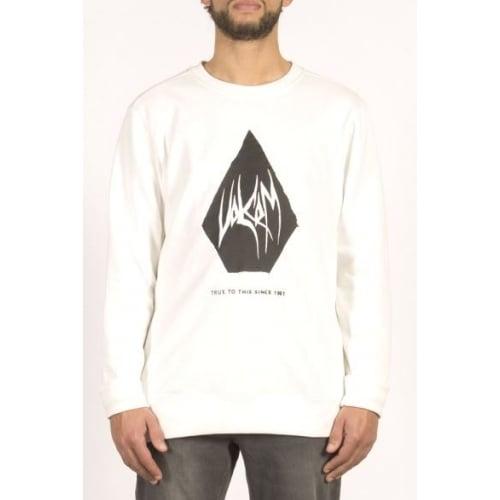 Sweatshirt Volcom: Supply Stone Crew WH