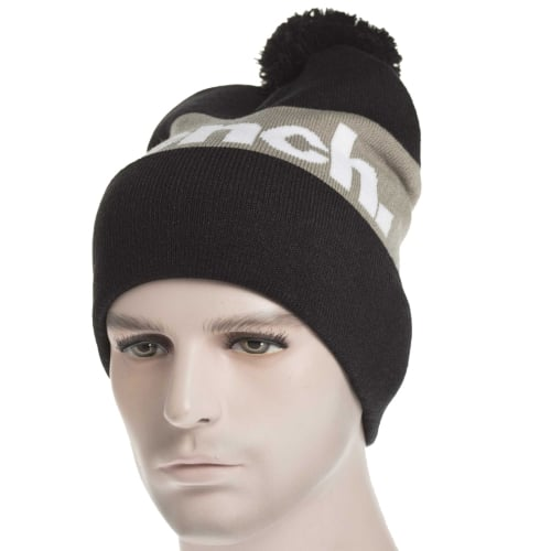Gorro Bench: Turn Up Colourblock Bobble BK