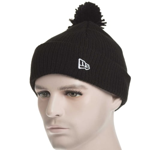 Gorro New Era: Lightweight Felt Bobble BK