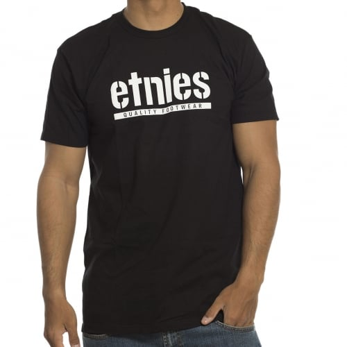 T-Shirt Etnies: Barred BK