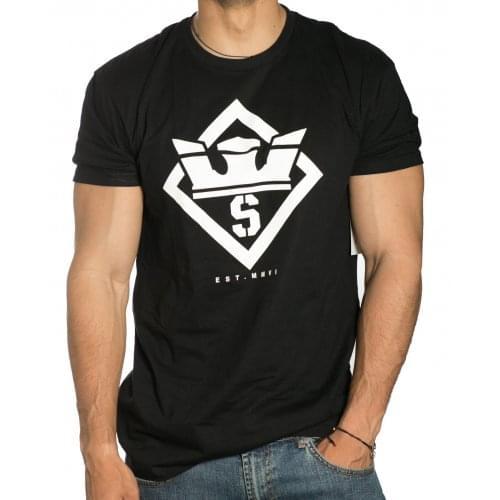 T-Shirt Supra: Stencil Reg SS BK