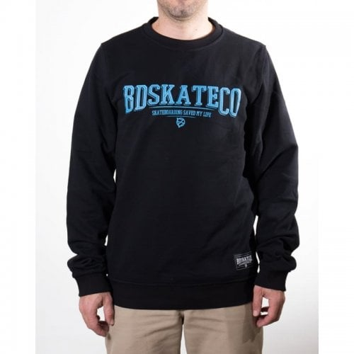 Sweatshirt BDSkateCO: Crew Sweater Logo BK