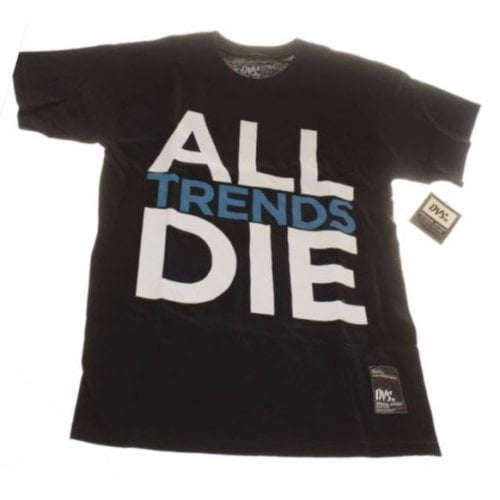 T-Shirt DVS: All Trends Die BK