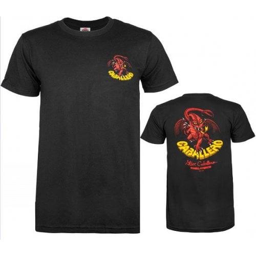 T-Shirt Powell: Caballero Classic Dragon BK