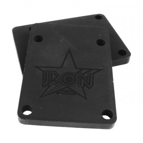 Bases Iron: Riser Pads Black 6mm