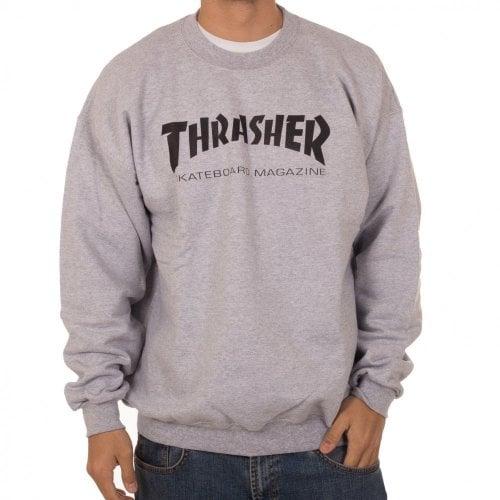 Sweatshirt Thrasher: Skate Mag Crew GR