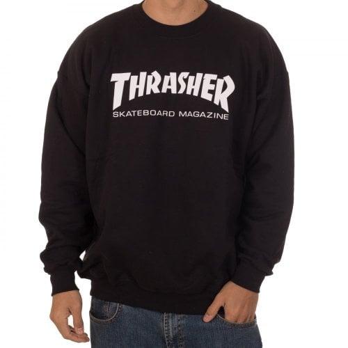 Sweatshirt Thrasher: Skate Mag Crew BK