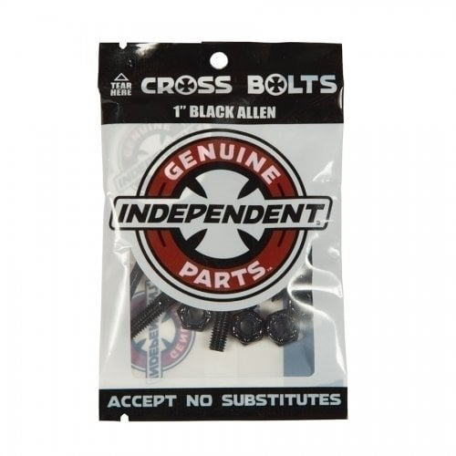 "Parafusos Independent: Genuine Parts Allen 1"" Black"
