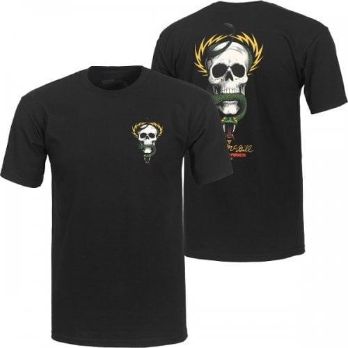 T-Shirt Powell Peralta: McGill Skull & Snake BK