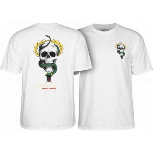 T-Shirt Powell Peralta: McGill Skull & Snake WH