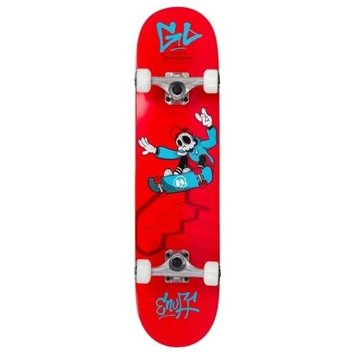 Skate Completo Enuff: Skully Red Mini 7.2
