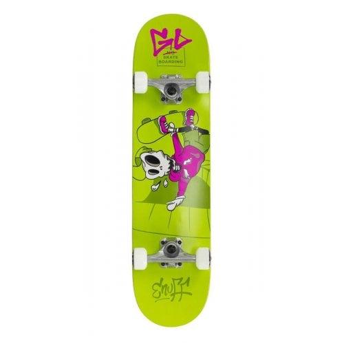 Skate Completo Enuff: Skully Green Mini 7.2