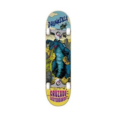 Skate Completo Cruzade: Drunkzilla 8.25